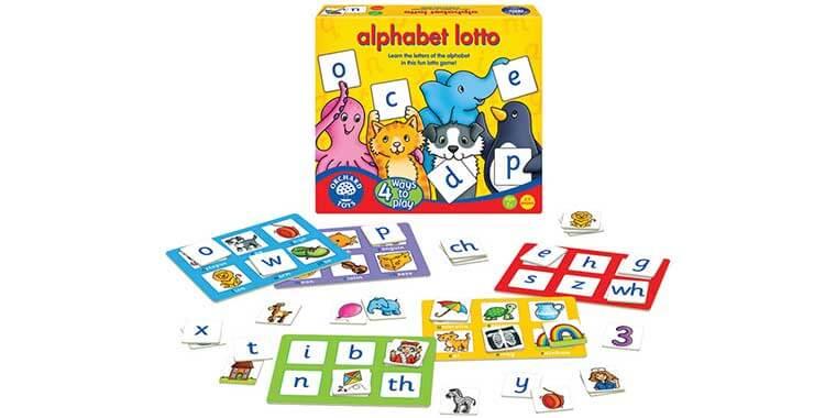 Alphabet Lotto ABC game