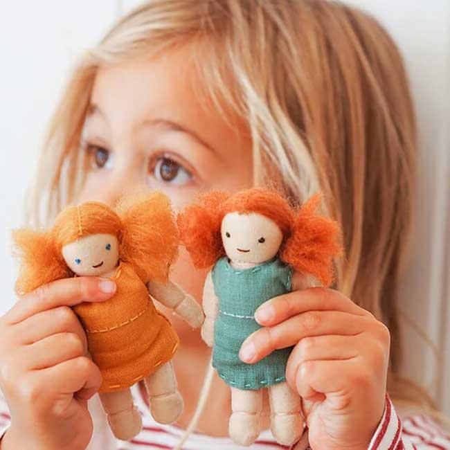 OlliElla Holdie Folk dolls